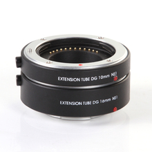 FOTGA Auto focus Macro Extension Tube 10mm+16mm Set for Nikon 1 mount Camera Lens