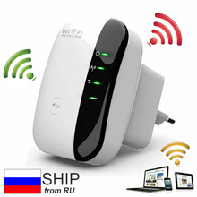 Wireless-N Repeater WIFI Router 802.11N/B/G Range Expander 300mbps Signal Antennas Boosters Extend Amplifier Repeater EU Plug