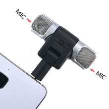 kebidu HOT Mini Stereo Microphone Digital Mic 3.5mm Interface Mini for PC Laptop Notebook Mobile Phone