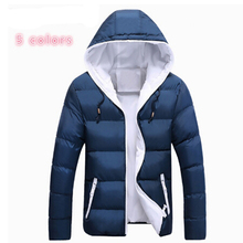 2017 Unisex Men Winter Jacket Brand Casual Mens Jackets And Coats Thick Warm Cotton-Padded Jacket Men Outerwear Coat Plus Size