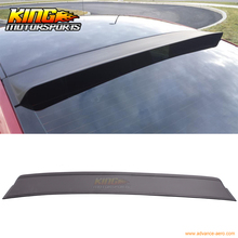 Fit For 05-14 Ford Mustang Rear Roof Window Visor Spoiler PUR Black