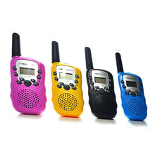 1 Pair Mini Children Intercom T388 Children Radio Toy Walkie Talkie Two Way Radio T-388 Children Walkie Talkie Christmas Gift
