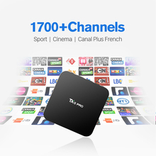 TX5 pro Wifi TV Box with 1 Year Subscription  IUDTV Europe French Arabic Italy IPTV 1700 TV Channels Canal Plus IP TV Box