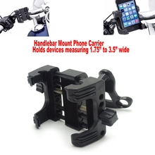 Universal Handlebar Mount Phone Carrier for Harley Sportster Road King Electra Brand New Highly Recommend