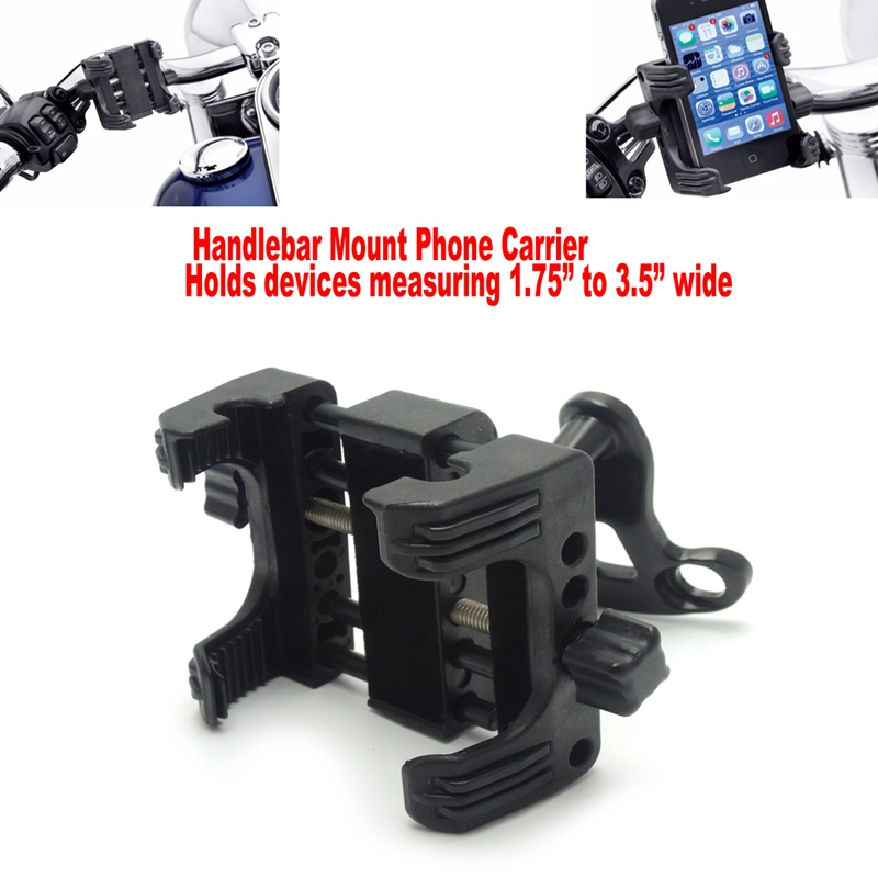 Handlebar Mount Phone Carrier Universal for Harley Sportster Road King Electra Highly Recommend after market<br>