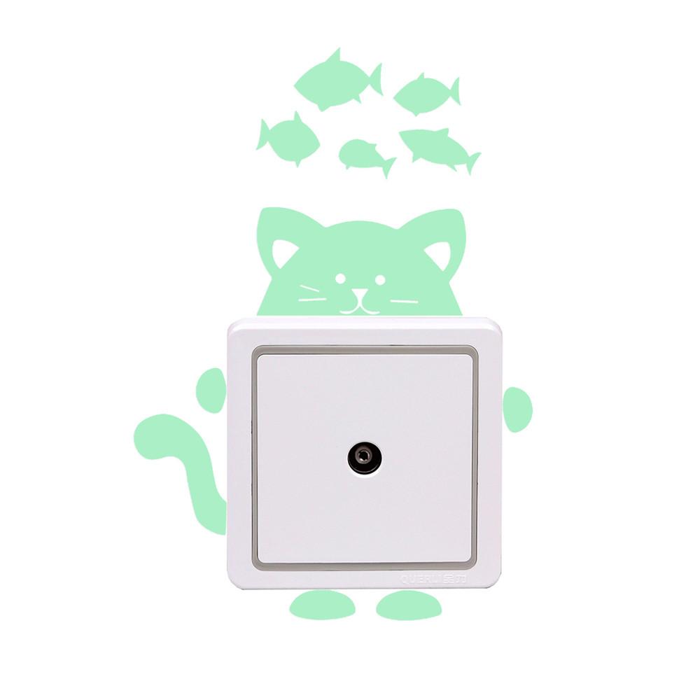 26 Styles Luminous Cartoon Switch Sticker Glow in the Dark Cat Sticker 26 Styles Luminous Cartoon Switch Sticker Glow in the Dark Cat Sticker HTB1I aLkx6I8KJjy0Fgq6xXzVXa8