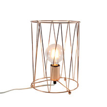 Desk Lamp Metal Iron Table Lights Gold Plated Table Lamp Vintage Lamp for Dining Room lampara led Indoor lighting SUNLI HOUSE(China)