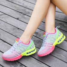 Buy women outdoor sport running shoes ultra light breathable platform air sole running shoes ladies jogging fitness trainers shoes for $25.12 in AliExpress store