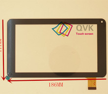 7inch 186X111 mm capacitive touch screen panel  for Freelander pd10 Y7Y007 86VS ZHC-0598 ZHC-0598 H-CTP070-015 MF-309-070F-2