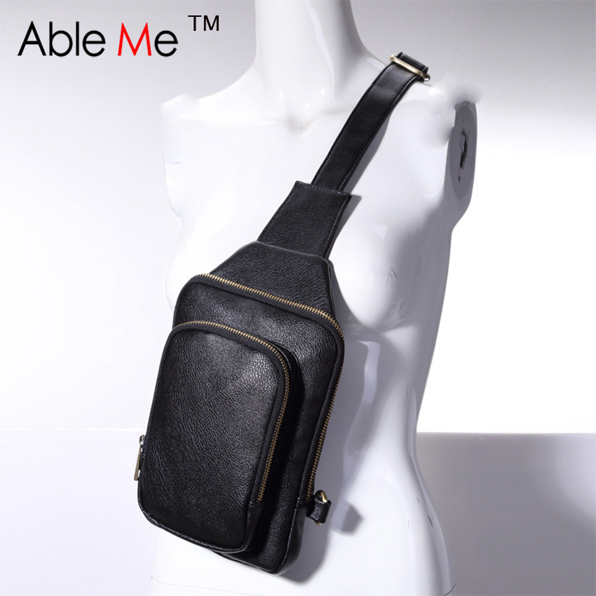 Classic Mini One Shoulder Bags For Men Leisure Style PU Leather Crossbody Messenger Bags With Adjustable Shoulder Strap<br><br>Aliexpress