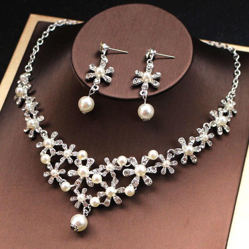 Necklace Earrings Set