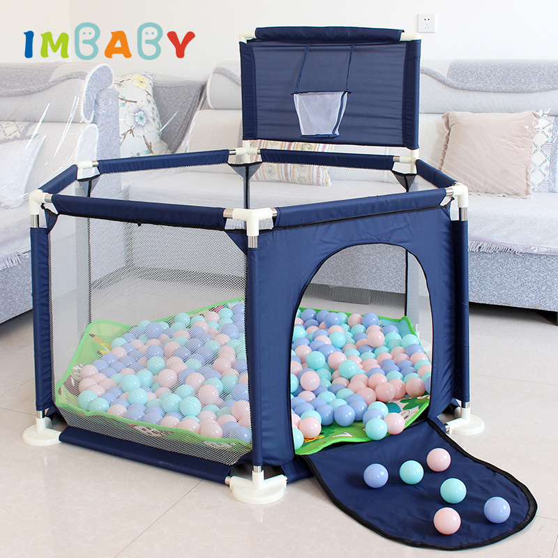 IMBABY Playpen Pool-Balls Ball-Pool Fence Kids Tent for Children 0-6-Years title=