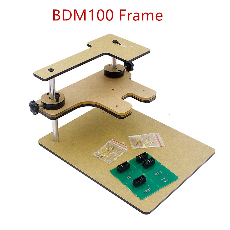 2017 Hottest Selling A+++ Quality BDM100 Frame With Full Adapters BDM Frame For BDM100 Programmer/ CMD Post<br><br>Aliexpress