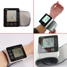 High Quality Touch Wrist Blood Pressure Monitor Watch Medical Arm Meter Pulse(China)
