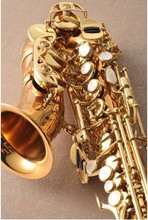 Yanagisawa Gold Lacquer SAX Bb saxophone soprano Phosphor Copper professional sax mouthpiece brass instruments SC-992(China)