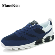 Maueken 2017 summer new style net surface zone Men's casual breathable comfortable Light High Quality shoes Free Shipping