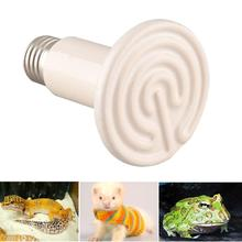 Pet Light Infrared Ceramic Heat Emitter Lamp Bulb For Reptile Amphibian Warmer Glow Brooder 100W New