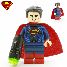 Single Sale Superman Clark Kent Dawn of Justice Lois Lane minifig Super Heroes Justice League DIY Building Blocks Kids Toys Gift