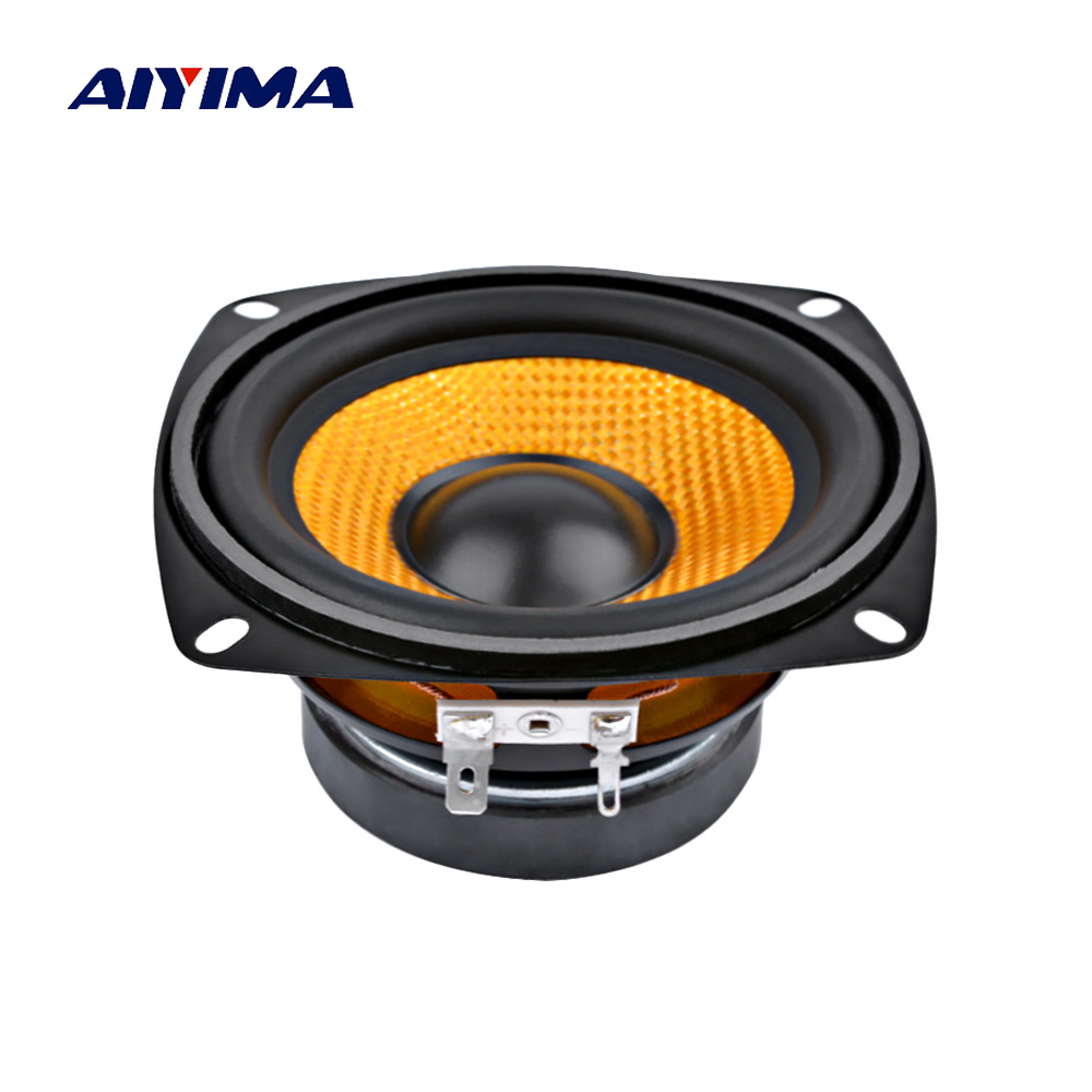 AIYIMA Multimedia Subwoofer Speakers Audio Sound-System Professional 4inch 15W for 1pc title=