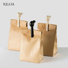 XZJJA Creative 2pcs/set  Bird Sealing Clips Kitchen Food Snack Storage Damp-proof Seal Clamp Plastic Bag Clips Cute Clothespin