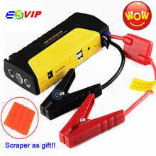 Mobile Portable Mini car Jump Starter Car Jumper 12V Booster Power Battery Charger Phone Laptop Power Bank