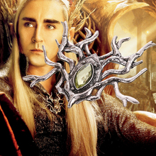 Fashion Brooches For Mens Thranduil Elven King Large Spider Brooch Pin Badge LOTR Cool jewelry for boys gift(China)