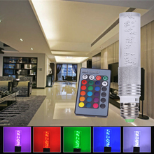 AC85V~265V E27 3W LED RGB Bulb Lamp 16 Colors LED Spotlight Remote Control RGB Light White Warm White Energy Saving Lampara(China)