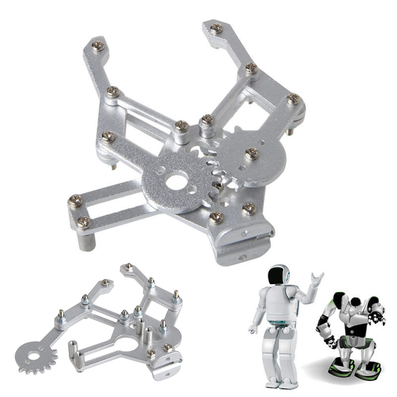 Mayitr Manipulator Aluminium Alloy Paw Arm Mechanical Robotic Claw Clamp Kit For Robot MG995(China)