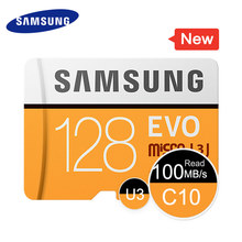 SAMSUNG Micro SD Memory Card 64GB 32GB 16GB MicroSD Cards SDHC SDXC Max 95M/s EVO C10 TF Trans Flash Mikro Card 128G(China)
