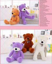 Brand New 5Colors Giant Teddy Bear Soft Adult Coat Plush Toys Wholesale Price GIANT JUMBO  white size : 2m