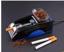 Multi-function durable household automatic electric cigarette machine two color portable cigarette making machine free shipping(China)