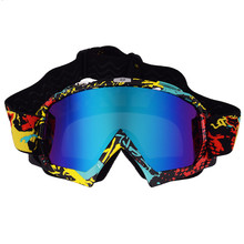 Tinted Glass FOX Motocross Goggles Cross Country Skiing ATV Mask Oculos Gafas Motocross Motorcycle Helmet MX Goggle Glasses