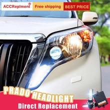 buy toyota prado kit and get free shipping on aliexpress com2pcs led headlights for toyota prado 2014 led car lights angel eyes xenon hid kit fog