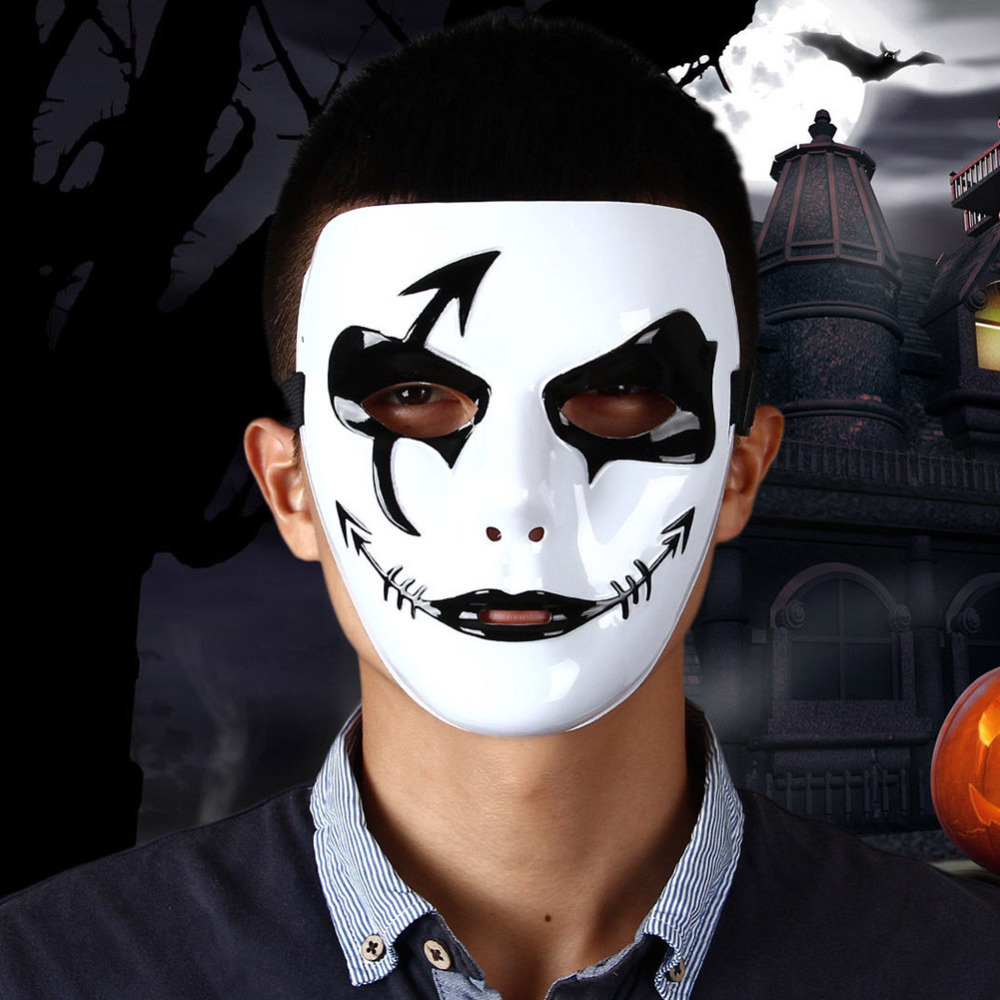 Как сделать маску на лице для хэллоуина