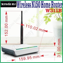 English Firmware Tenda W311R Wireless-N 150M Wireless Router 150Mbps 802.11ngb WiFi 4 LAN Ports Broadband AP Router home router