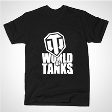 2015 summer style Funny World Of Tanks T Shirt men Manufacture World War ii Tank T-SHIRT Men Plus Short-sleeve Top Tees