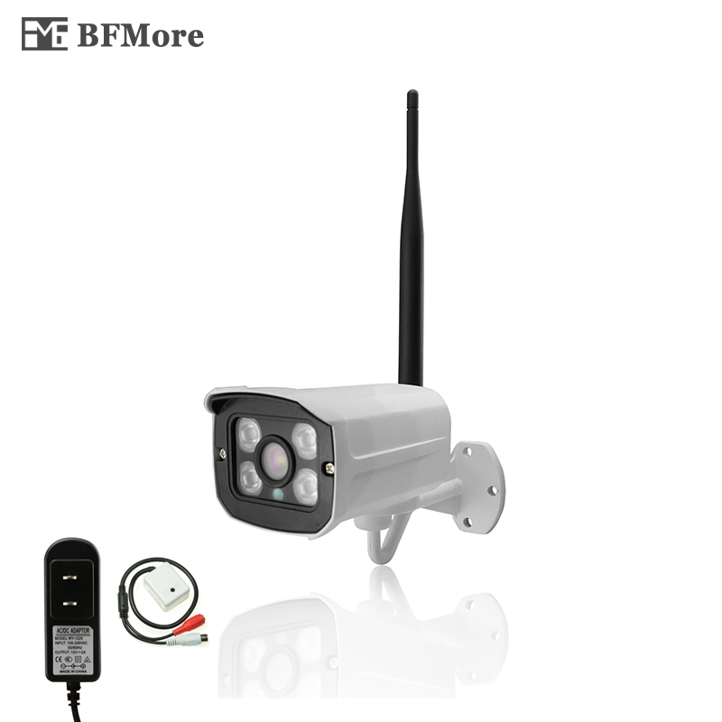 BFMore Wireless Audio 1080P 2MP IP Camera Sony Full-HD Outdoor Wifi CCTV Cam Remote Surveillance Security P2P Email Camhi FTP<br>