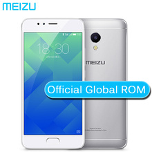 "Original Meizu M5S 3GB 16GB Global Firmware 4G LTE Cell Phone 5.2"" Fingerprint ID Fast Charge 13.MP Metal Case 3000mAH battery(China)"