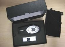 4 In 1 Crystal Wireless Mouse Presenter For ppt laser pointer with gif box(China)