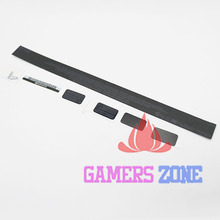 10SETS Black White For Sony Playstation PS 4 PS4 Console Slim Housing Shell Sticker Label Seals