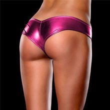 New Style Lady&Girls Underwear Women Sexy Panties G-string Seamless Panty Briefs Thong Wet Cortex Charm Knickers