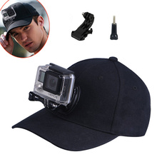 Gopro Accessories SmaHat Baseball Outdoor Sun Hat with J-HOOK Quick Release Buckle Mount  For Go pro Hero 4 3+ 3 Xiaomi Yi SJCAM