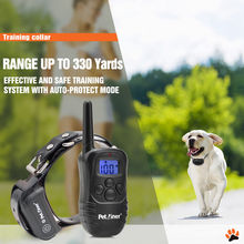 Petrainer PET998DB Pet Dog Training E Collar 100% Waterproof Rechargeable Electronic Shock  300M Multi-Dog Training