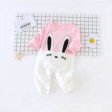 Hello Kitty Rabbit Baby Clothing 2017 New Newborn Baby Boy Girl Romper Clothes Long Sleeve Infant Product Comfortable Breathable
