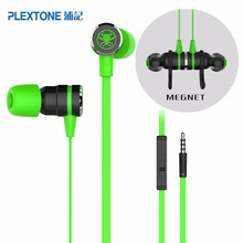 Original PLEXTONE G20 In-Ear earphones with Mic Noise Reduction Game Magnetic Adsorption earphones PK Razer Hammerhead V2 Pro