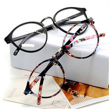 Optical Glasses Frame Eyeglasses With Clear Glass Myopia Frames Women Clear Transparent Glasses Women's Men's Flower Frames