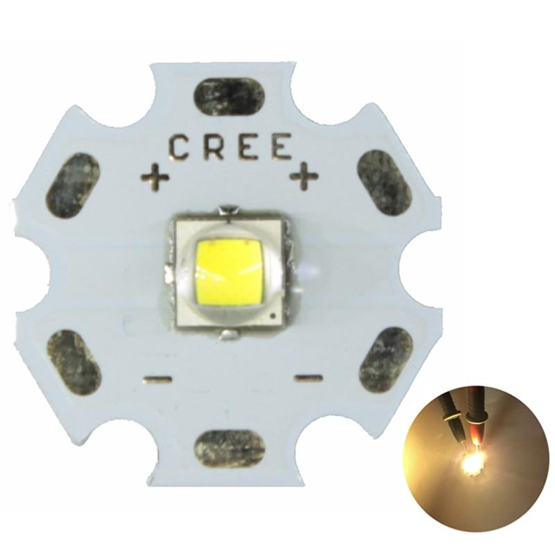CREE 10W XM-L L2 T6 Cool Warm White AL Star Base for LED Flashlight Headlamps