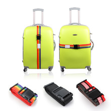 Joytour Adjustable Luggage Straps Packing Belt Soild Suitcase Security Bags Parts Case Travel Essentisl Accessories For Suitcase(China)