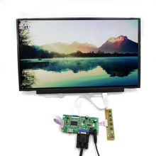 HDMI VGA LCD controller board with 15.6inch 1920x1080 IPS lcd screen B156HAN01.2 30pin EDP cable