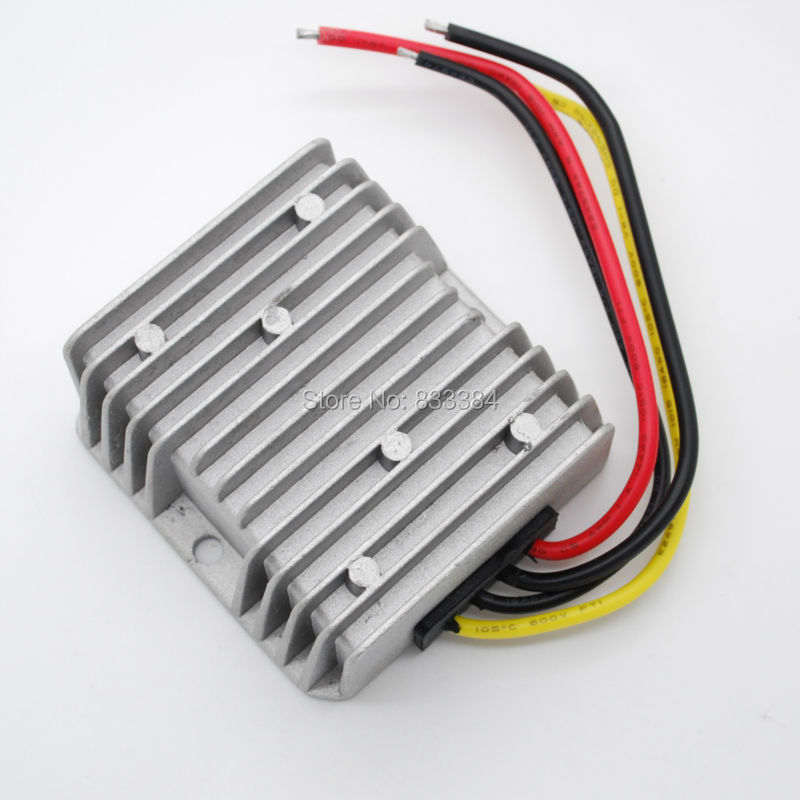24V(10-36vV)to 24V DC DC converter 3A 72W  320G 74cm for solar charge<br>